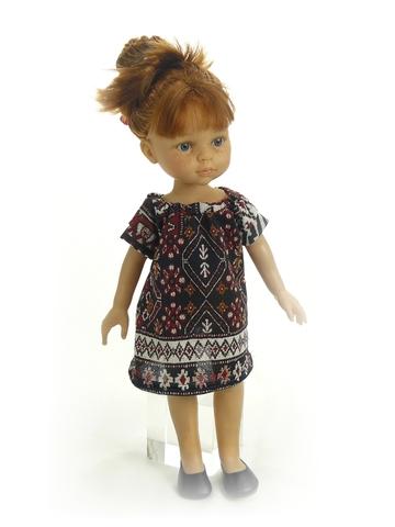 Пальто - На кукле. Одежда для кукол, пупсов и мягких игрушек.
