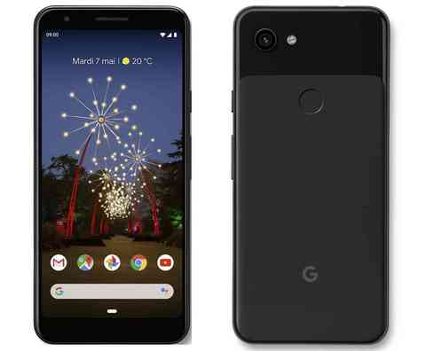 Смартфон Google Pixel 3a 64GB Just Black (Черный)