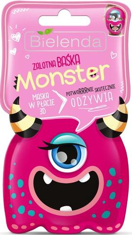 MONSTER маска тканевая 3D Кокетлива Барбара питательная 1шт