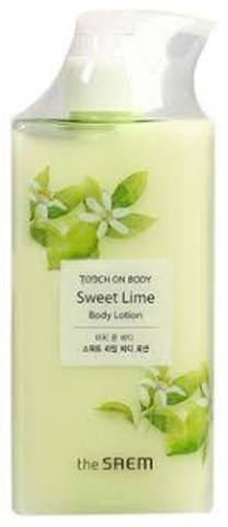 Saem TOUCH ON BODY  Лосьон для тела сладкий лайм TOUCH ON BODY Sweet Lime Body Lotion 300мл
