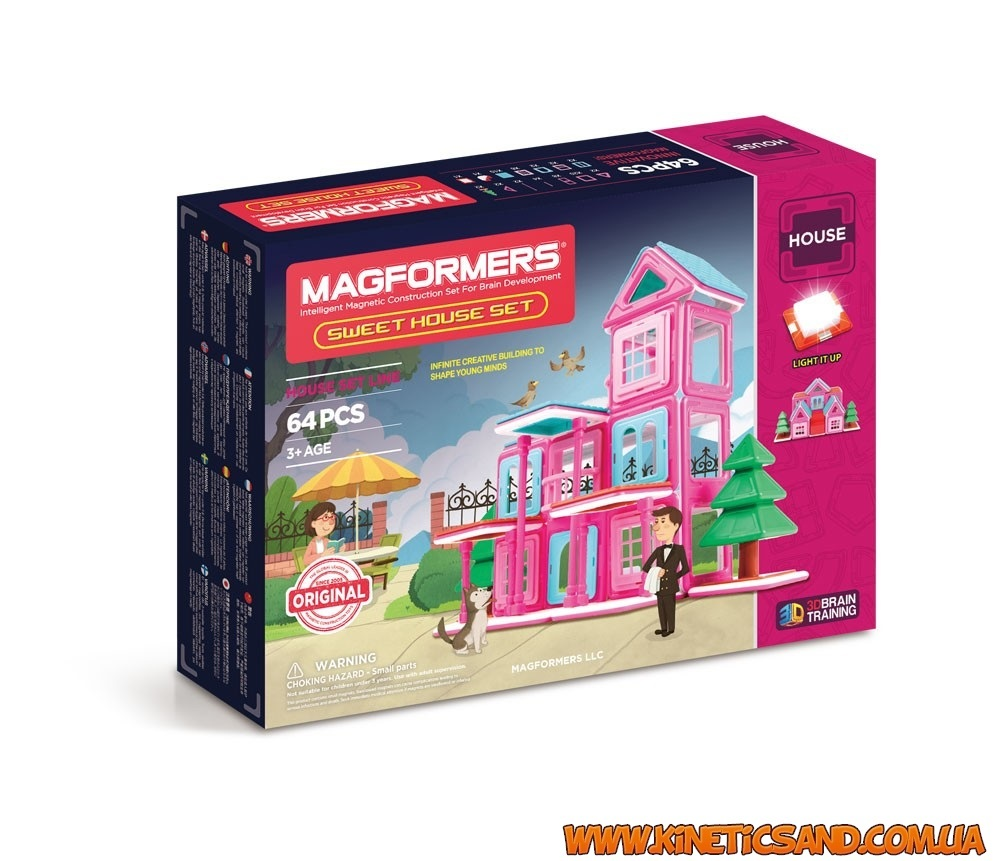 Magformers Дом милый дом, 64 элемента