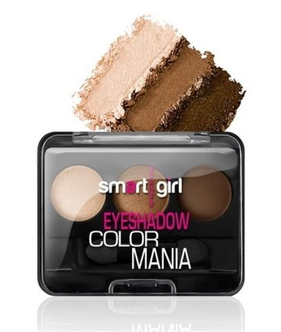 BelorDesign Smart Girl Тени для век 3-х цветные Color Mania тон 32