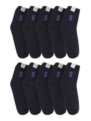 289-3 носки мужские 41-45 (10шт), темно-синие