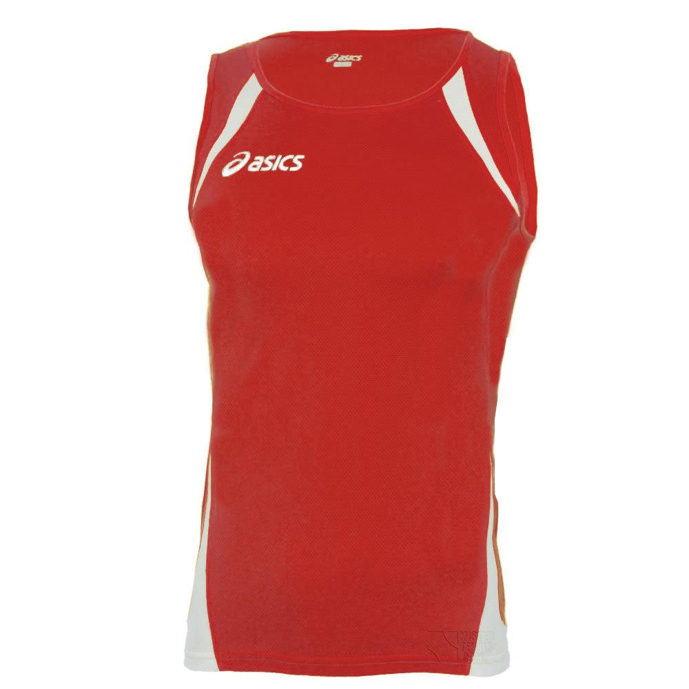 Женская легкоатлетическая майка Asics Singlet Usain red (T237Z6 2601)