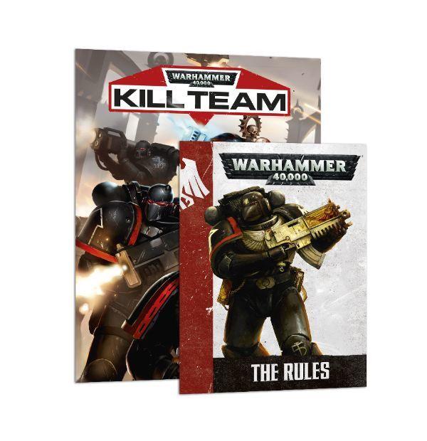 Warhammer 40,000: Kill Team. Коробка и правила
