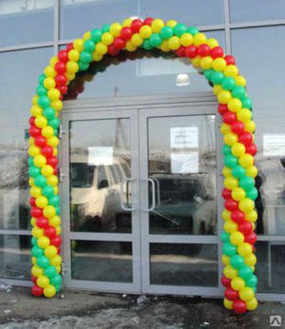 арка из шаров на вход shop-shariki.ru