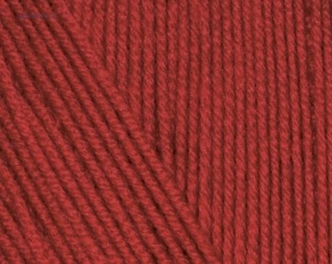 Пряжа Cotton BABY SOFT Alize 57 Бордовый- купить в интернет-магазине недорого klubokshop.ru