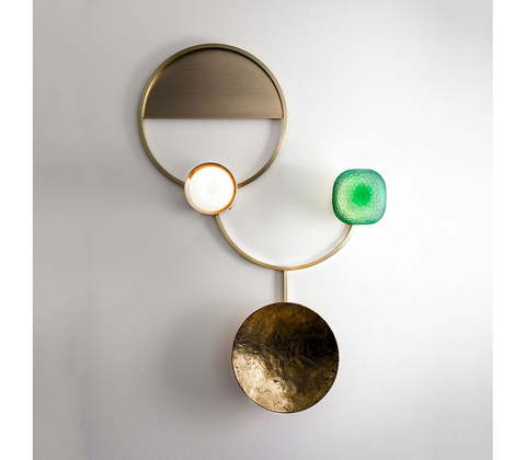 Wall lamp Gioielli 02 by Giopatto & Coombes