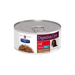 Hill's Prescription Diet i/d Рагу, влажный диетический корм для собак при расстройстве ЖКТ, вызванных стрессом, с курицей и добавлением овощей 156 гр