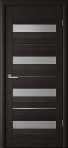 Дверь Фрегат ALBERO Барселона, стекло матовое, цвет кипарис тёмный, остекленная