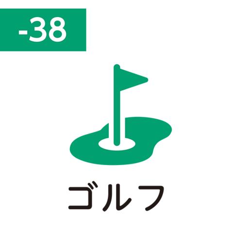 Pilot FriXion Stamp SPF-12-38G (ゴルフ / gorufu / гольф)