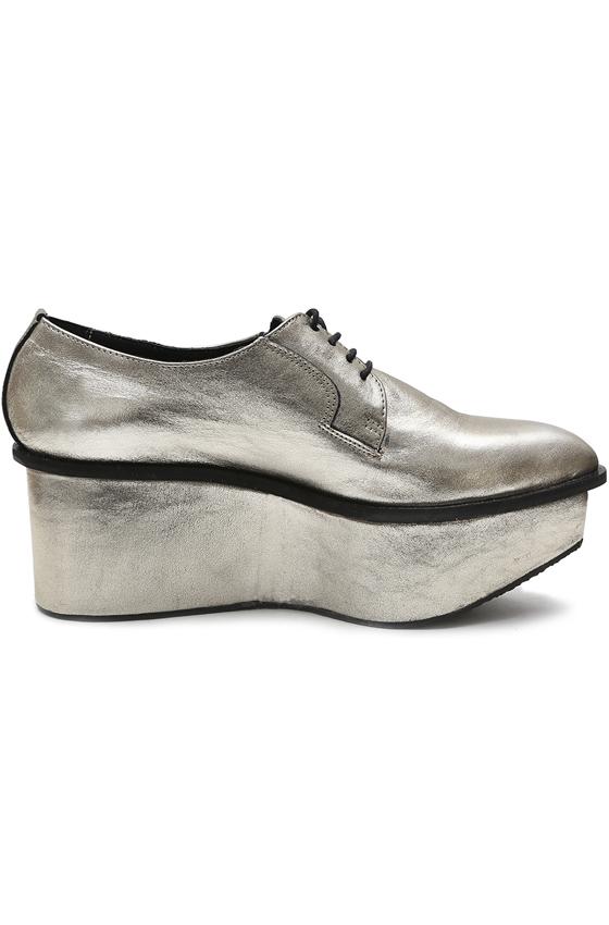 Ботинки «STRELA PLATFORM GOLD»