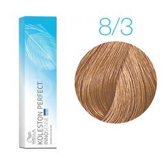 Wella Professionals Koleston Perfect Innosense 8/3 (Cветлый блонд золотистый) - Стойкая крем-краска для волос