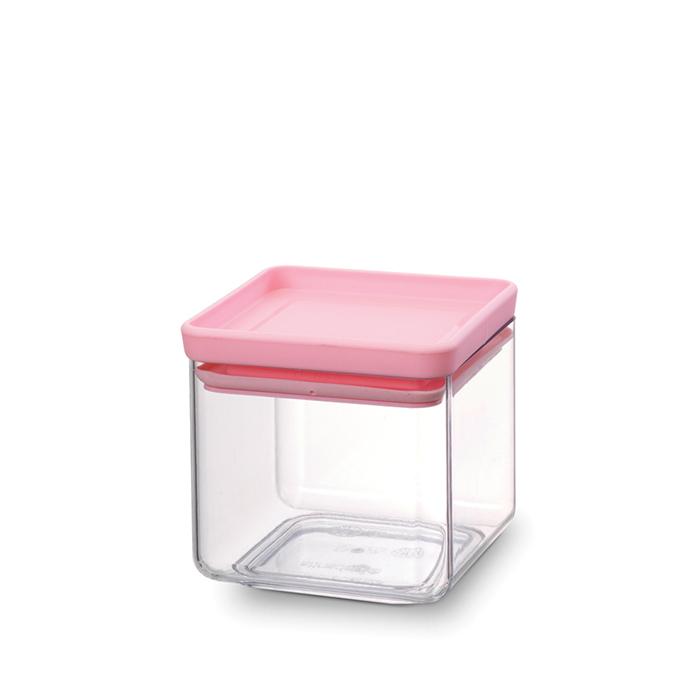 Прямоугольный контейнер (0,7 л), Розовый, арт. 290060 - фото 1