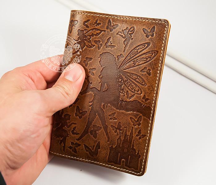 BY14-14-02 Прикольная обложка на паспорт «Фея» для прекрасных дам фото 04