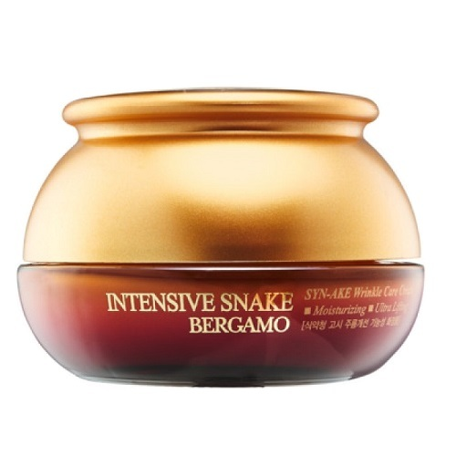 Крем антивозрастной с экстрактом змеиного яда Bergamo Intensive Snake Synake Wrinkle Care Cream 50мл