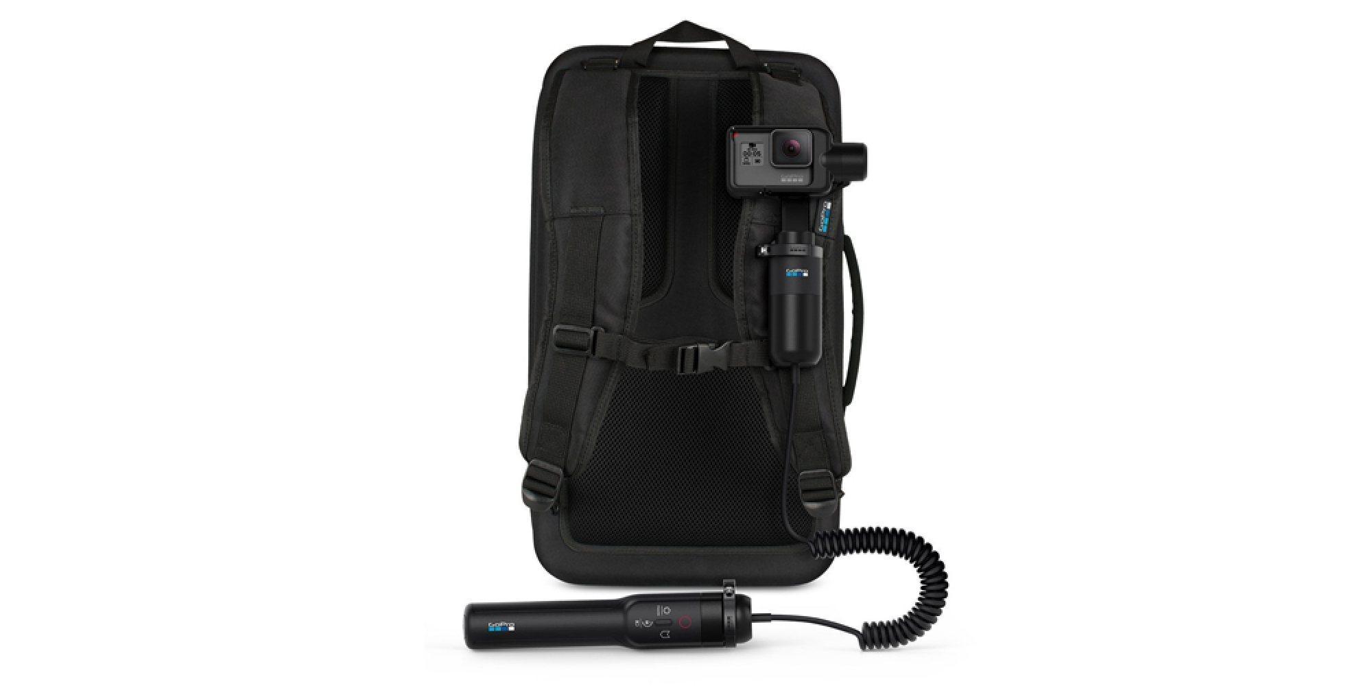 Кабель-удлинитель GoPro Karma Grip Extension Cable (AGNCK-001) на рюкзаке