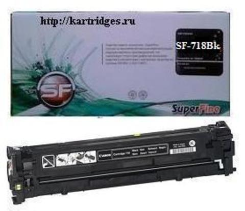 Картридж SuperFine SF-Cartridge 718Bk