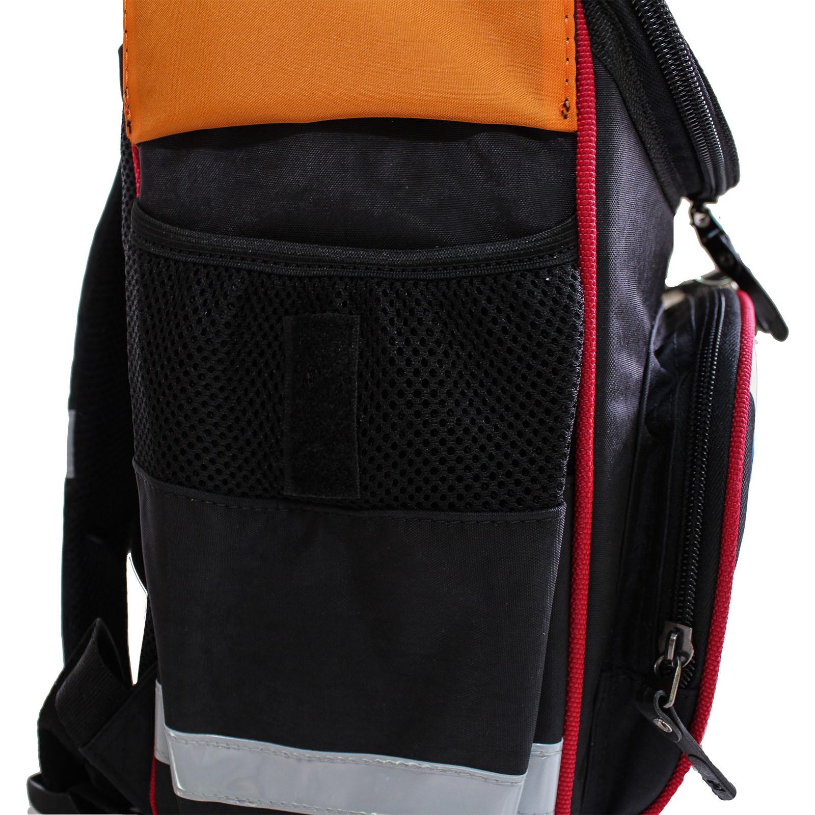 b56515d624cc Рюкзак школьный каркасный с фонариками Bagland Успех 12 л. черный 175k ( 00551703)