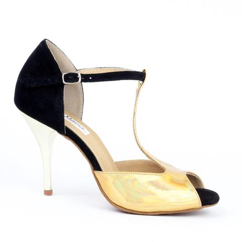 Туфли для аргентинского танго, арт.ATG07gold9