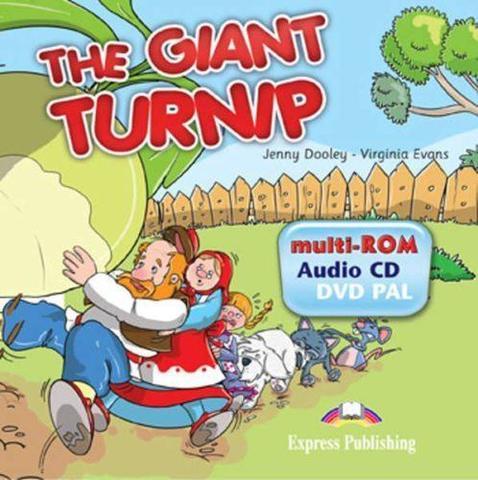 The Giant turnip. Multi-rom. Аудио CD/ DVD видео