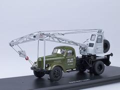 1:43 ЛАЗ-690 (Зил-164) Автокран (Хаки/серый)