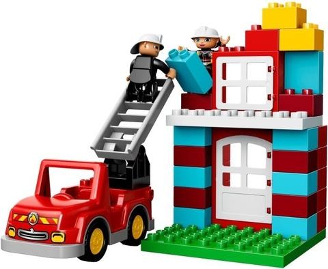 LEGO Duplo: Пожарная станция 10593 — Town Fire Station — Лего Дупло