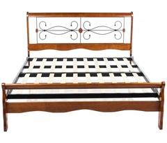 Кровать АТ-9077 L (MK-2011-RO) Rose Oak