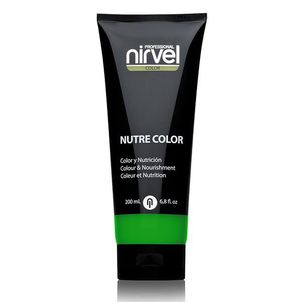 Гель-маска питательная Зеленая Nirvel Nutre Color Green 200мл