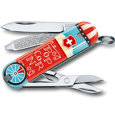 Нож-брелок Victorinox модель 0.6223.L1910 Classic SD
