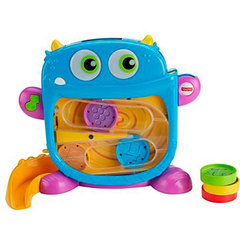 Fisher-Price Развивающая игрушка «Голодный монстрик» (DRG11)