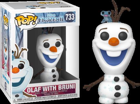Фигурка Funko Pop! Disney: Frozen 2 - Olaf with Bruni
