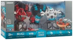Радиоуправляемый бой роботов