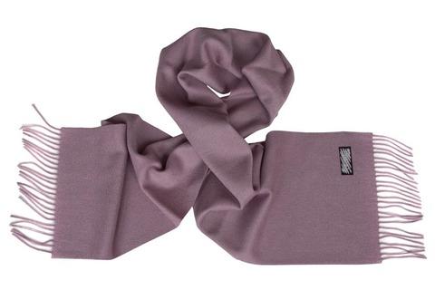 Шерстяной шарф серый 00802
