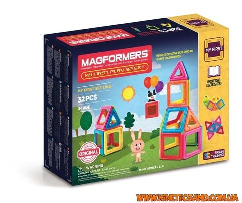 Magformers Мой первый набор, 32 элемента Магформерс
