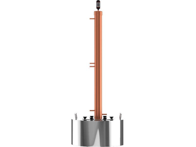 Самогонные апараты Самогонный аппарат CuprumSteel Rocket42 40 л 10547_G_1507035790854.JPG