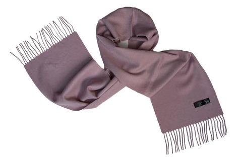 Шерстяной шарф серый 00805