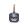 5077 FISSMAN Сковорода-гриль TINY CHEF 14x2,5см (алюминий),
