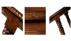Стол овальный HWDT-4280-SWL Cappuccino