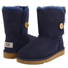 UGG Kids Bailey Button Navy