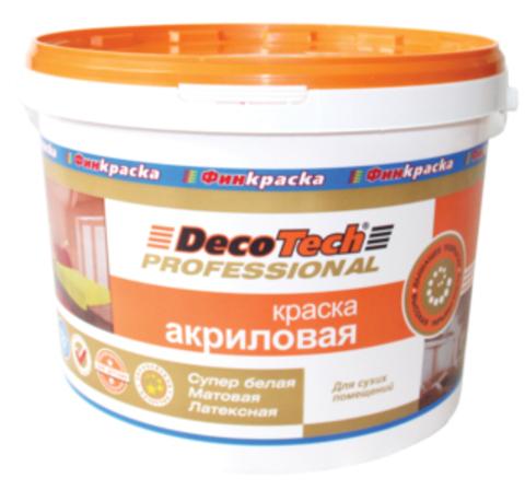 Краска «АКРИЛОВАЯ» DecoTech (ДЕКОТЕК)