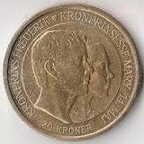 K6098, 2004, Дания, 20 крон Свадьба крон-принца