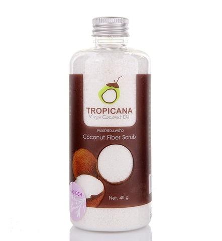 Cкраб для тела из кокосового волокна  Coconut Fiber Scrub Tropicana, 40гр