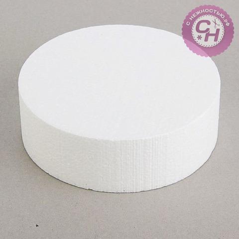Основа флористическая - диск из пенопласта 15 см.