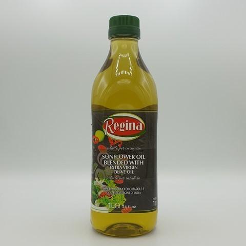 Смесь подсолнечного и оливкового масла Extra Virgin REGINA, 1 л