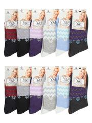 B2022 носки женские 36-41 (12шт.), цветные