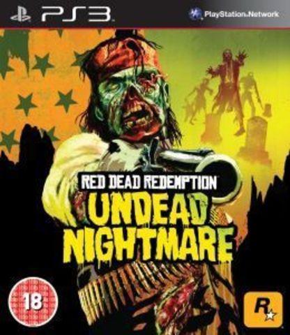 PS3 Red Dead Redemption Undead Nightmare (английская версия)