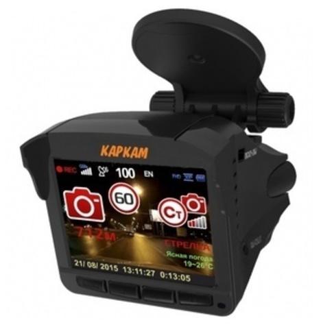 Комбо-устройство (видеорегистратор с радар-детектором и GPS) Каркам COMBO 5S