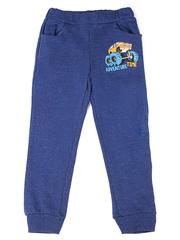 BAC004261 Брюки детские, синий меланж
