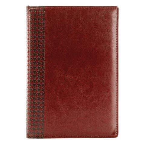 Ежедневник недат, коричнев, тв пер, 140х200, 160л, Lozanna AZ052/brown